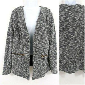 Asos Curve Tweed Boucle Blazer Jacket